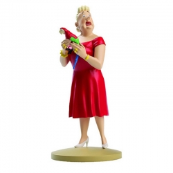 Figurine de collection Tintin Castafiore perroquet 13cm Moulinsart 42185 (2014)