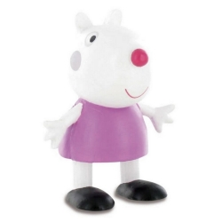Figurine de collection Comansi Peppa Pig, Mouton Suzy 7cm (2013)