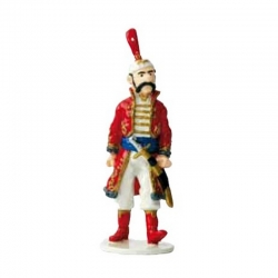Figurine Tintin The Royal Treasury Guard Moulinsart Carte de voeux 1972 (46984)