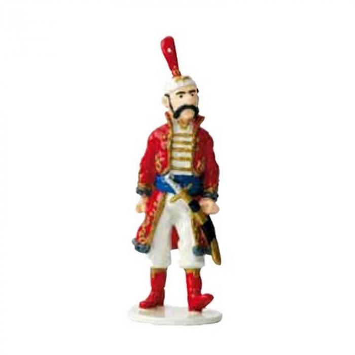 Figurine Tintin The Royal Treasury Guard Moulinsart Carte de voeux 1972 (46984)