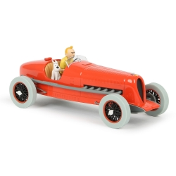 Collectible car Tintin, the Bugatti of Bobby Smiles Nº01 1/24 (2020)