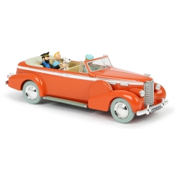 Collectible car Tintin, the New Delhi Taxi Nº03 1/24 (2020)