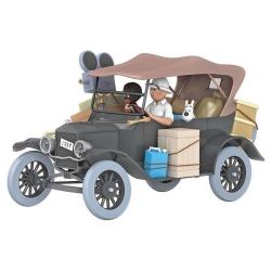 Coche de colección Tintín, la Ford T Negra Tintín en el Congo Nº05 1/24 (2020)