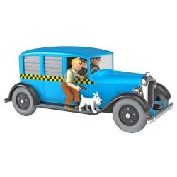 Coche de colección Tintín, el Taxi Checker 1929 de Chicago Nº07 1/24 (2020)