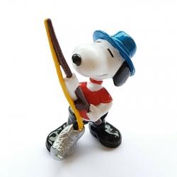 Figura Schleich® Peanuts, Snoopy pescando (22238)