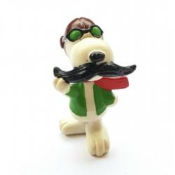 Figura Schleich® Peanuts, Snoopy aviador (22225)