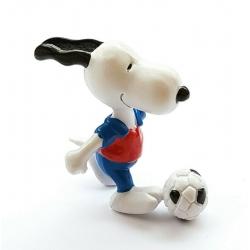 Figura Schleich® Peanuts, Snoopy futbolista (22230)