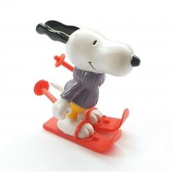 Figura Schleich® Peanuts, Snoopy esquiador (22227)