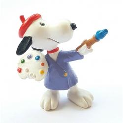 Figura Schleich® Peanuts, Snoopy pintor (22236)