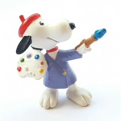 Peanuts Schleich® figurine, Snoopy painter (22236)