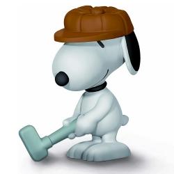 Figura Schleich® Peanuts, Snoopy Golfista (22077)