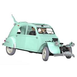 Coche de colección Tintín, la Citroën 2CV accidentado Nº11 1/24 (2020)