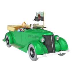 Collectible car Tintin, the Ford Machine Gun car Nº12 1/24 (2020)