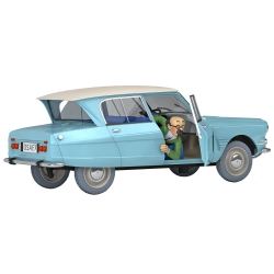 Collectible car Tintin, the Citroën Ami 6 of the Doctor Nº18 1/24 (2020)