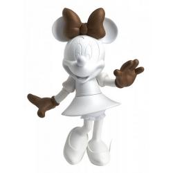 Figura de colección Leblon-Delienne Disney Minnie Mouse Welcome (Blanco-Madera)