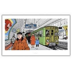 Póster cartel Tardi Nestor Burma, IX Distrito de París (60x35cm)