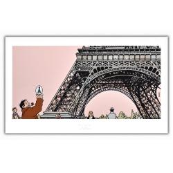 Poster affiche Tardi Nestor Burma, VIIème arrondissement de Paris (60x35cm)
