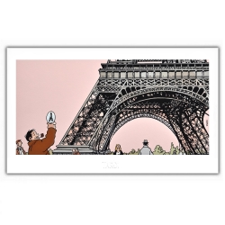 Póster cartel Tardi Nestor Burma, VII Distrito de París (60x35cm)