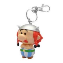 Porte-clés figurine de collection Chibi Plastoy Astérix, Obélix 60598 (2020)