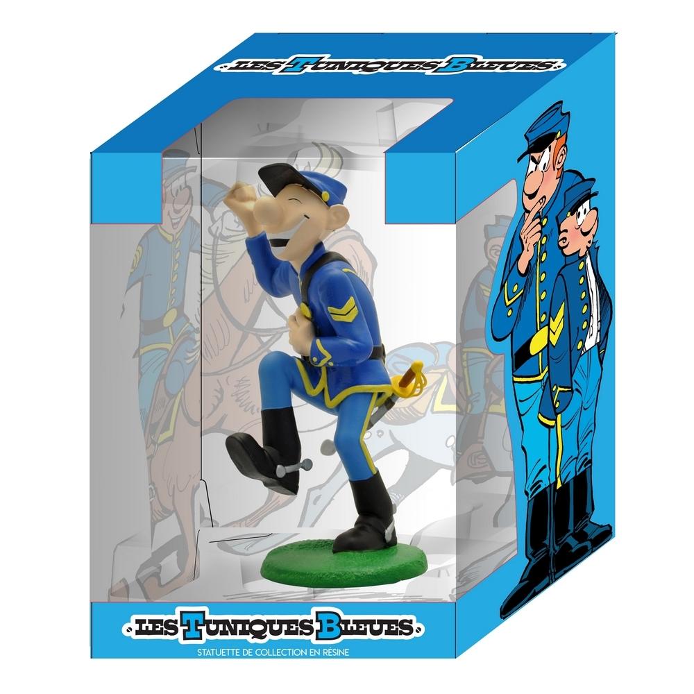 Pvc figurine the blue coats Corporal blutch pa bd pa tv schleich