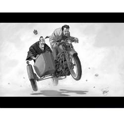 Poster offset Vincent, Don Camillo (40x30cm)