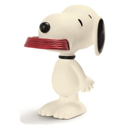 Figurine Schleich® Peanuts, Snoopy avec sa gamelle (22002)
