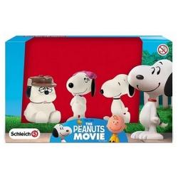 Set de figuras Schleich® Peanuts Snoopy con Belle y Olaf (22049)