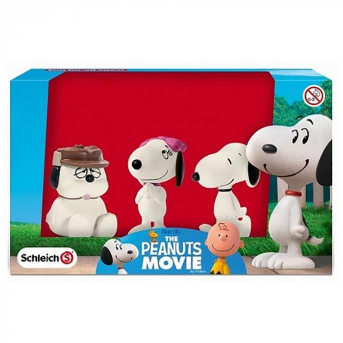 Peanuts Schleich® figurines Snoopy with Belle and Olaf (22049)