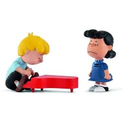 Set de figuras Schleich® Peanuts Snoopy, Lucy y Schroeder (22055)