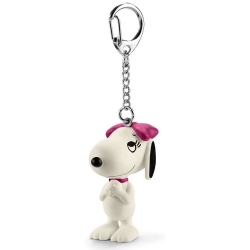 Peanuts Schleich® keyring chain figurine Snoopy, Belle (22038)