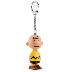 Peanuts Schleich® keyring chain figurine Snoopy, Charlie Brown (22040)