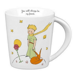 Tasse mug Könitz en porcelaine Le Petit Prince (You will always be my friend)