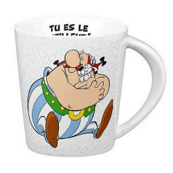 Könitz porcelain mug Astérix and Obélix (Tu es le meilleur)