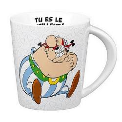 Taza mug Könitz en porcelana Asterix y Obelix (Tu es le meilleur)
