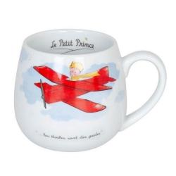 Tasse mug snuggle Könitz en porcelaine Le Petit Prince (Avion FR)