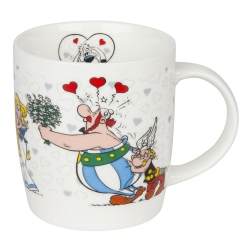 Könitz porcelain mug Astérix and Obélix (I'm in love)