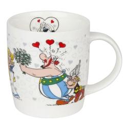 Taza mug Könitz en porcelana Asterix y Obelix (Enamorado)