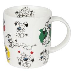 Taza mug Könitz en porcelana Asterix y Obelix (Snif ! Snif !)