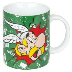 Taza mug Könitz en porcelana Asterix y Obelix (Paff !!)