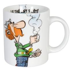 Taza mug Könitz en porcelana Asterix y Obelix (Le thé est prêt !)