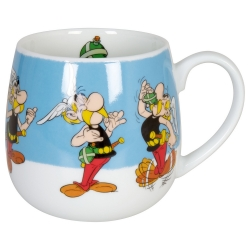 Taza mug snuggle Könitz en porcelana Asterix y Obelix (Poción mágica)