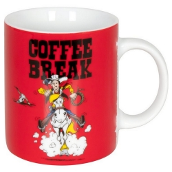 Könitz porcelain mug Lucky Luke (Coffee Break)