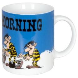Tasse mug Könitz en porcelaine Lucky Luke, Les Frères Dalton (Monday Morning)