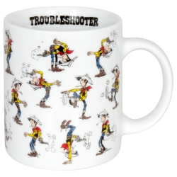 Könitz porcelain mug Lucky Luke (Troubleshooter)