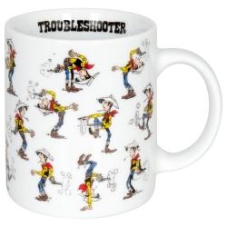 Taza mug Könitz en porcelana Lucky Luke (Troubleshooter)