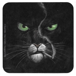 Blacksad Coaster 10x10cm (Somewhere Within the Shadows)