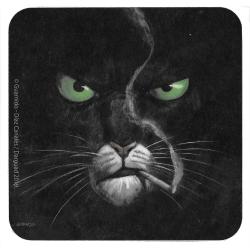 Posavaso Blacksad 10x10cm (Un lugar entre las sombras)