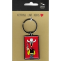 Collectible Keychain Lucky Luke, ready to shoot (3x5cm)