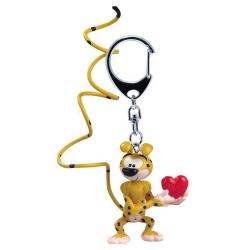 Llavero figura Plastoy El Marsupilami enamorado 65061 (2015)