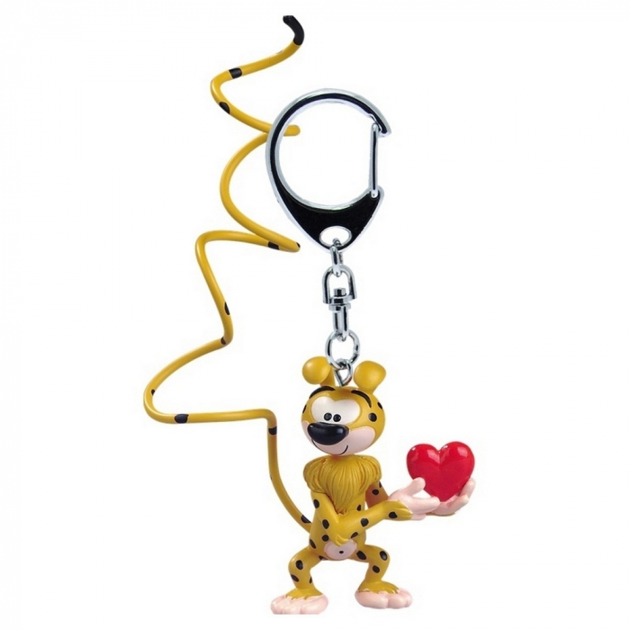 Porte-clés figurine Plastoy Le Marsupilami amoureux 65061 (2015)